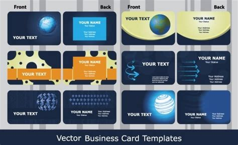 business card free vector download 22 184 free vector