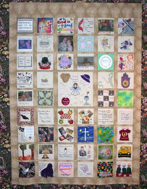 Photo Memory Quilt Ideas by Memory Quilt Ideas Memory Quilts