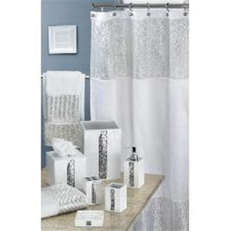 white sequin shower curtain white sequin shower curtain for the home pinterest