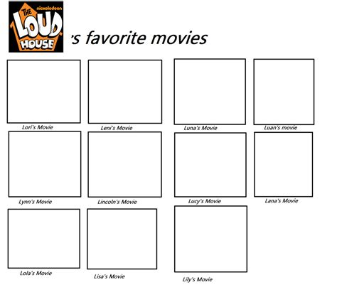 the loud house title card template loud house s fave meme blank by mixelfangirl100 on