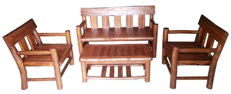 Meja Kursi Tamu Kayu Jati produk set meja kursi tamu kayu jati rustic rumah