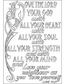 christian coloring pages wallpapercraft