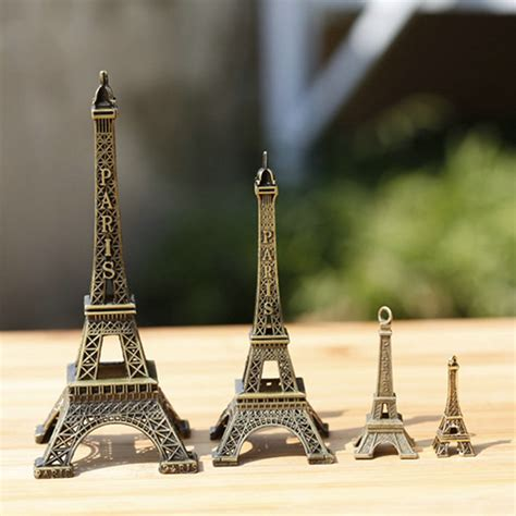 eiffel tower home decor accessories 5pcs set garden miniatures retro eiffel tower height 3cm