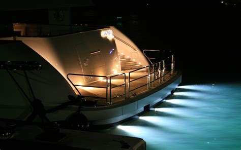 yacht underwater lights best underwater yacht lights yachting pages