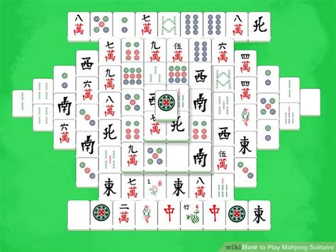 printable solitaire instructions 3 ways to play mahjong solitaire wikihow