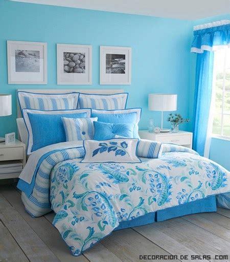 decoracion de habitaciones juveniles en color azul dormitorios en color azul