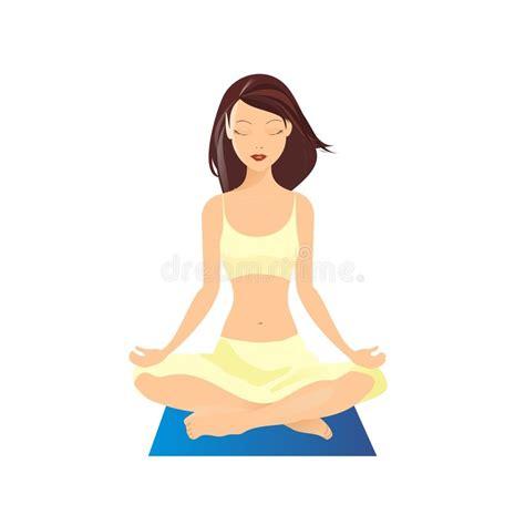 imagenes yoga animadas yoga vector illustration stock vector illustration of