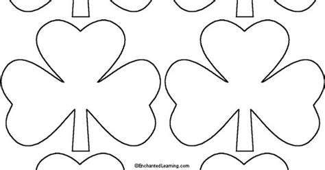 shamrock coloring page free from coloringpage eu lots of shamrock template right click image and quot save to