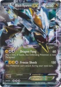 Black kyurem ex 100 113 ultra rare pokemon card center