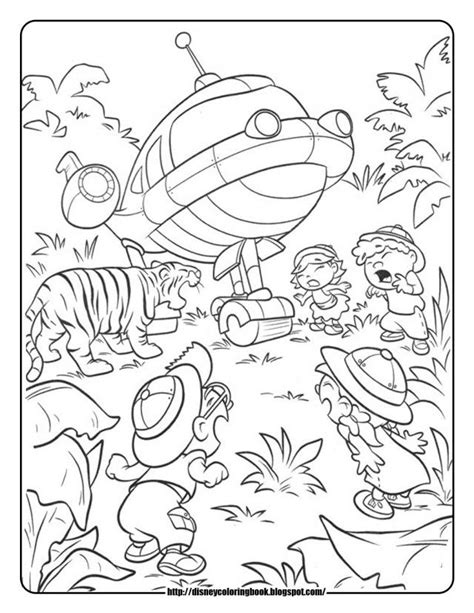 Little Einsteins Printable Coloring Pages Coloring Home Einsteins Coloring Pages