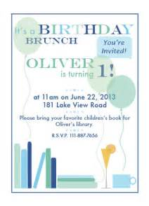 birthday brunch invitation invitations 1st birthday brunch at minted