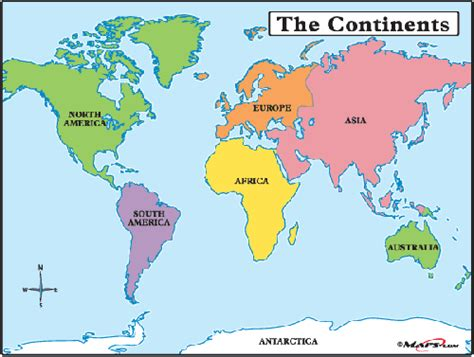 continents   world introduction