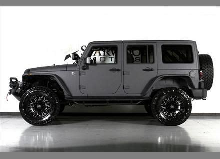 jeep wrangler unlimited grey grey jeep wrangler unlimited and jeeps on pinterest