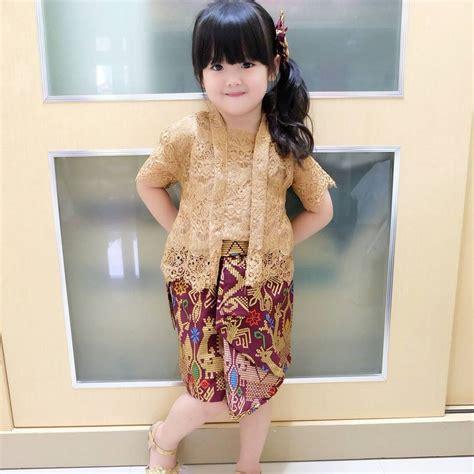 Kebaya Kartini 23 kebaya modern 23 model kebaya anak paling lucu dan