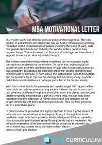 Motivation Letter Mba Get Simple Plan To Create Mba Motivation Letter Why Mba