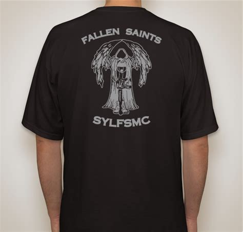 Gildan Custom Graphic Tshirt Kaos Voltron Go support your local fallen saints mc custom ink fundraising