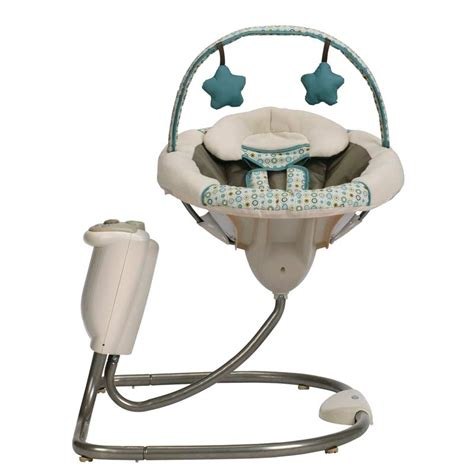 newborn swing com graco sweet snuggle infant soothing swing