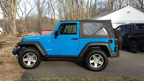 blue jeep 2 door cosmos blue jeep wrangler rubicon 2 door manual