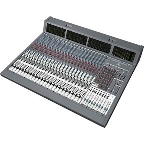 Mixer Behringer Sx4882 behringer eurodesk sx4882 48 24 channel mixer ex demo at