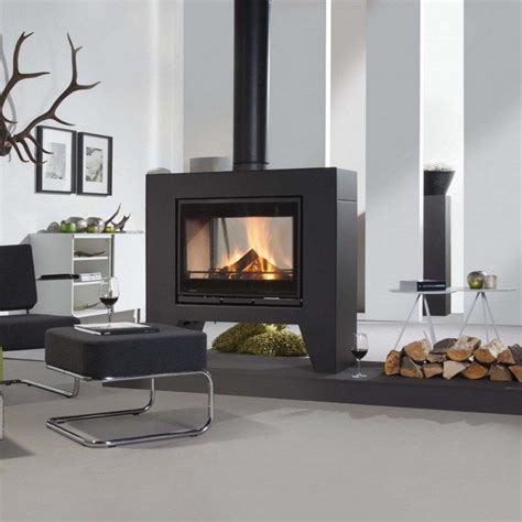 Sided Fireplace Design by Transform Your Spacious Space With A Sided