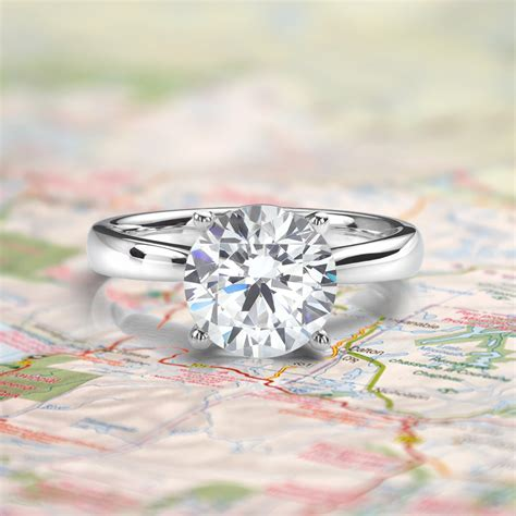 Replica Engagement Rings   'Fake' Travel Engagement Rings