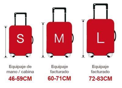 medidas  pesos de equipaje por compania aerea