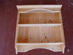 wooden wall display shelves display rack wood knick knack wall shelf display pine