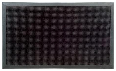 Outdoor Black Rubber Door Mats Outdoor Black Rubber Stud Door Mat 32 X 48