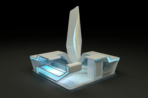 3d model designer 3d model design booth stand