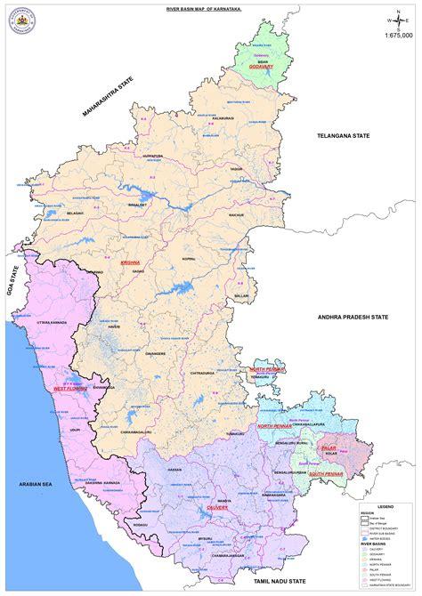 Karnataka Outline Map by Karnataka Outline Map Bamboodownunder
