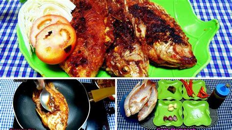 Pemanggang Ikan Teflon resep cara memasak ikan nila merah panggang teflon