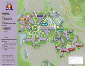 florida rooms map the themed areas at disney s all sports resort