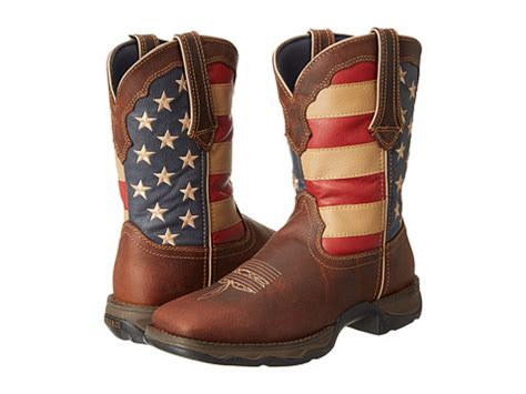 s vintage american flag boot by durango