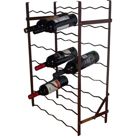Ruby Rack A Metal Wine Rack By Rigidex From Europeantiqueshop