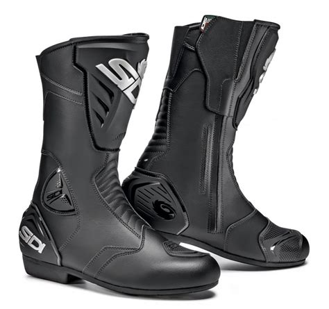 mens black riding boots sidi mens black rain riding boots ebay