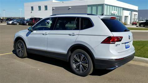 Volkswagen Suv 2018 White Volkswagen Tiguan Trendline Suv