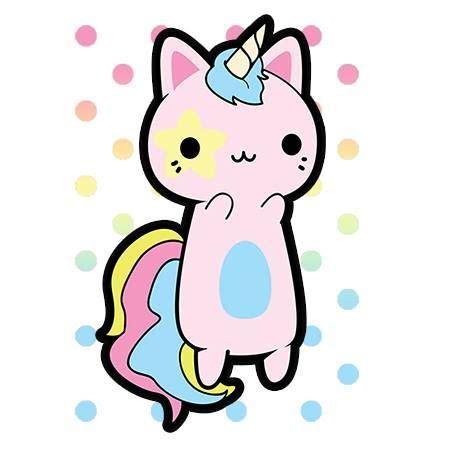 imagenes kawaii gatos kawaii kawaii pinterest color unicornios y gato