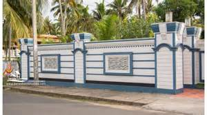 Home Gate Design 2016 Compound Wall Gate Design Keralareal Estate Kerala Free