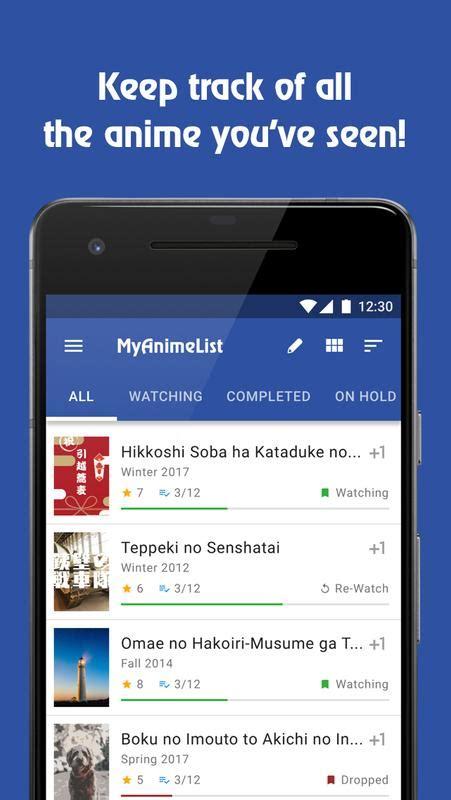 Myanimelist App by Myanimelist For Android Apk