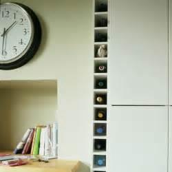 Kitchen Wine Rack Ideas fitted wine rack small kitchen design housetohome co uk