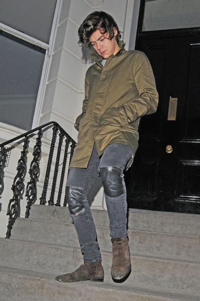 hairstyles for party on jeans more pics of harry styles skinny jeans 3 of 6 skinny