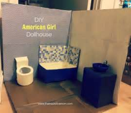 Bookcase Cork Diy American Dollhouse The Inquisitive Mom