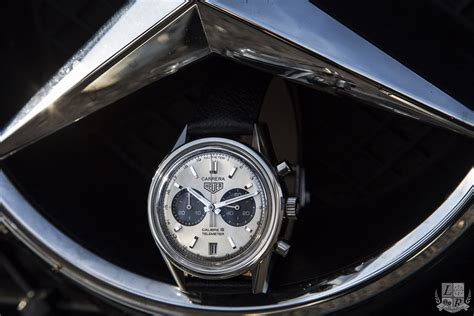 les montres tag heuer calibre 18 et 6 en mercedes gts amg