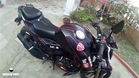Bike Sticker In Nepal by Tvs Apache Rtr 200 4v Modification Review Kathmandu