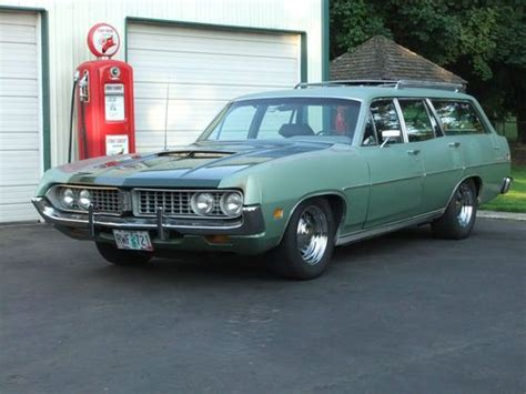 green ford station wagon purchase used 1971 ford torino station wagon in clackamas