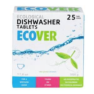Ecover Dishwasher Tablets Eco Dishwasher Tablets Green Lifestyle Magazine The