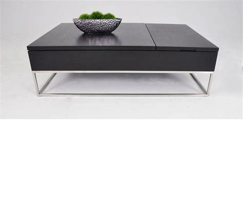 Modern Storage Coffee Table Dreamfurniture P209a Modern White Coffee Table With Pull Out Tray And Storage