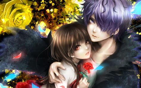 wallpaper of girl and boy together fantasy love couple full hd wallpaper and background image