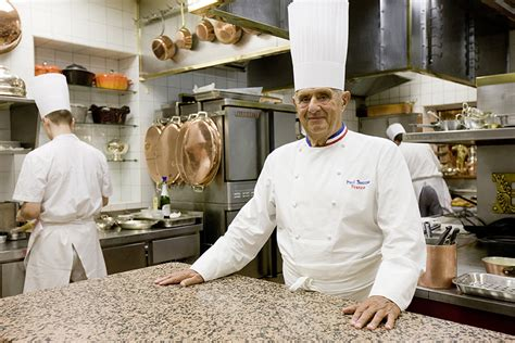chef de cuisine lyon with legendary chef paul bocuse