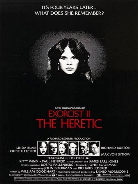 musique du film l exorcist affiche du film l exorciste 2 l h 233 r 233 tique affiche 2